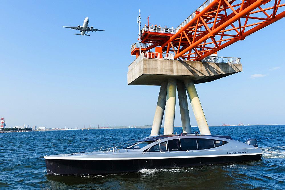 limousine boat design